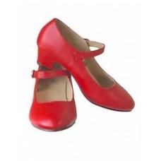 Spaanse schoenen rood