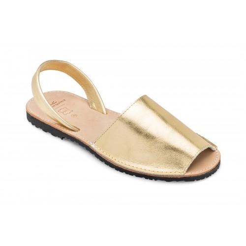 Avarca-Menorquina-goud-Spanje-sandalen-menorquinasnl