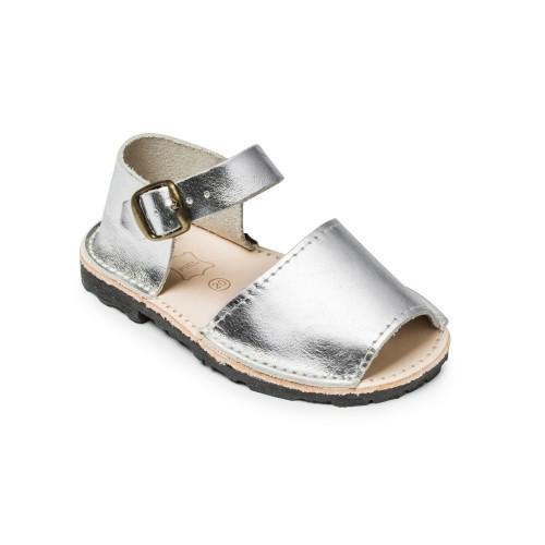 Avarca-menorquina-zilver-ibiza-spanje-sandalen-kinder