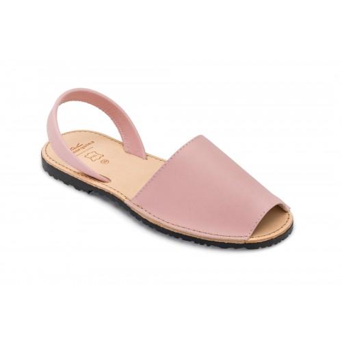 Menorquina-roze-spaanse-sandaal-ibiza-pink-menorquinasnl-500×500