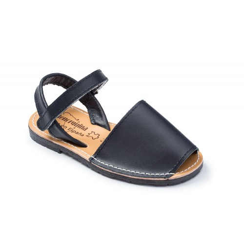 sandalen-kinder-blauw-avarca-menorquin